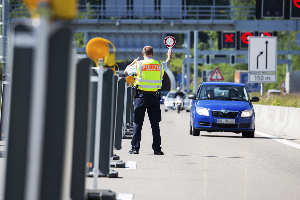 Grenzkontrollen G7 Gipfel Füssen
