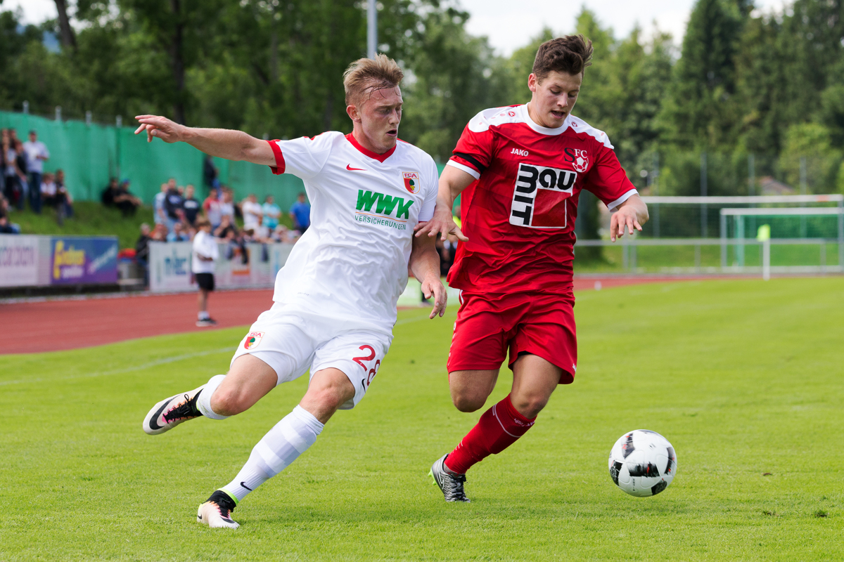 FC Augsburg gegen FC Sonthofen