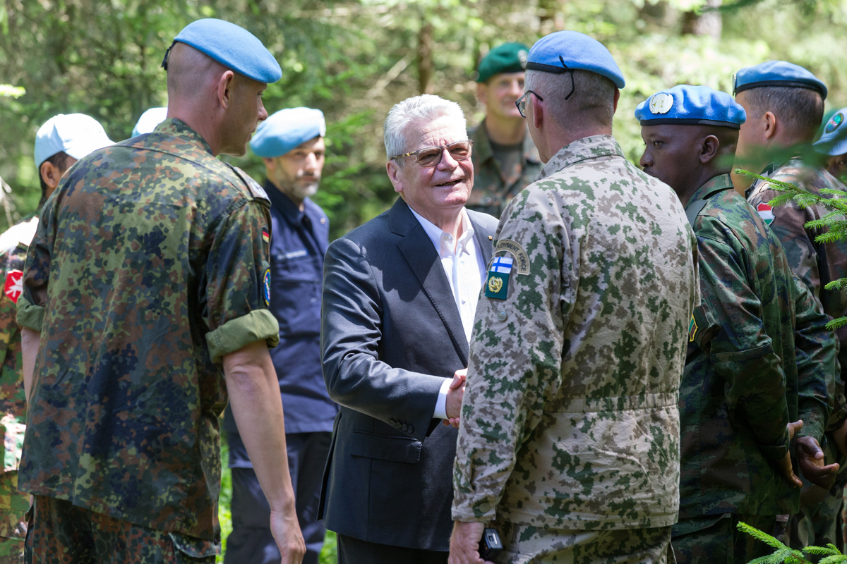 Joachim Gauck zu Gast im Allgaeu